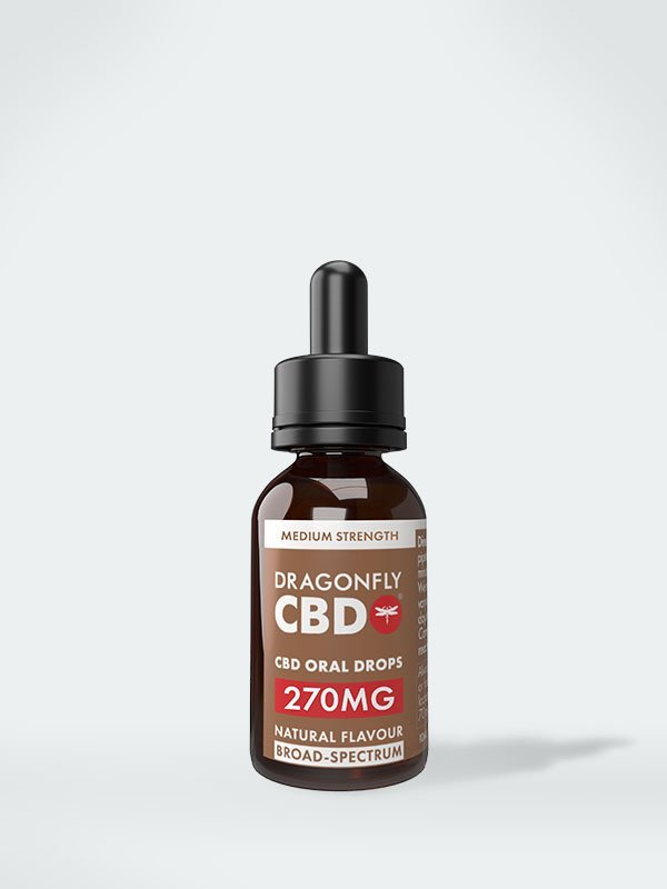 Масло Dragonfly CBD широкого спектра действия 270 мг